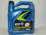 OLEJ ELF  5W-30 EVOLUTION 900 SXR  4L