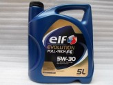 OLEJ ELF  5W-30 EVOLUTION FULL-TECH FE  5L  SOLARIS FE DPF